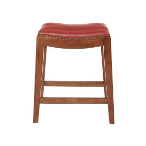 Fine Osp Home Furnishings Metro 24 In Red Cranberry Bonded Gmtry Best Dining Table And Chair Ideas Images Gmtryco