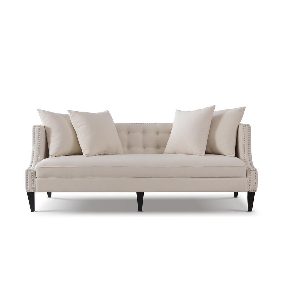 Caroline Sky Neutral Sofa