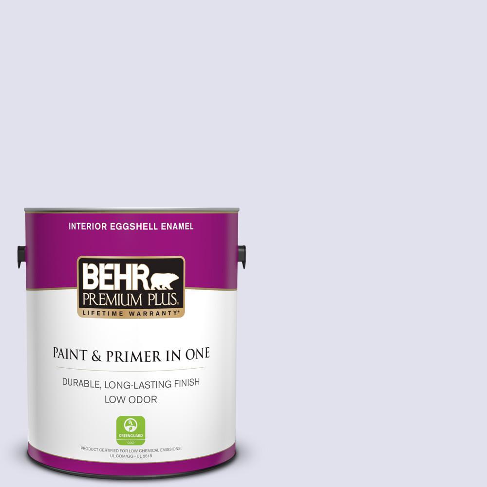 M550 1 White Lavender Eggshell Enamel Low Odor Interior Paint And Primer In One