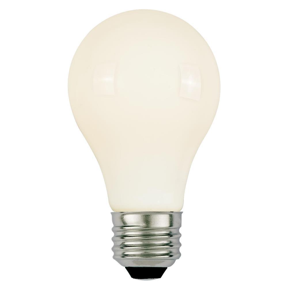 40W Equivalent Soft White A19 Dimmable Filament LED Light Bulb