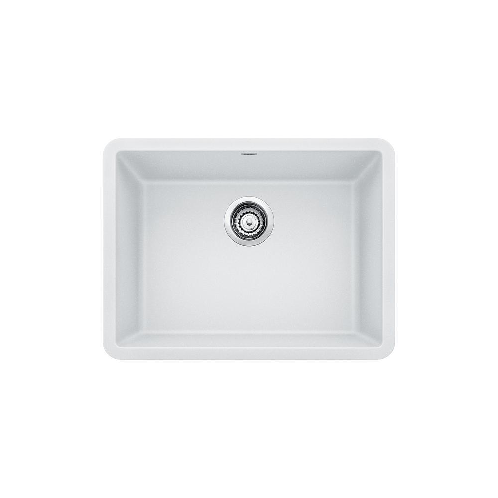 Blanco PRECIS Undermount Granite Composite 24 In. Single