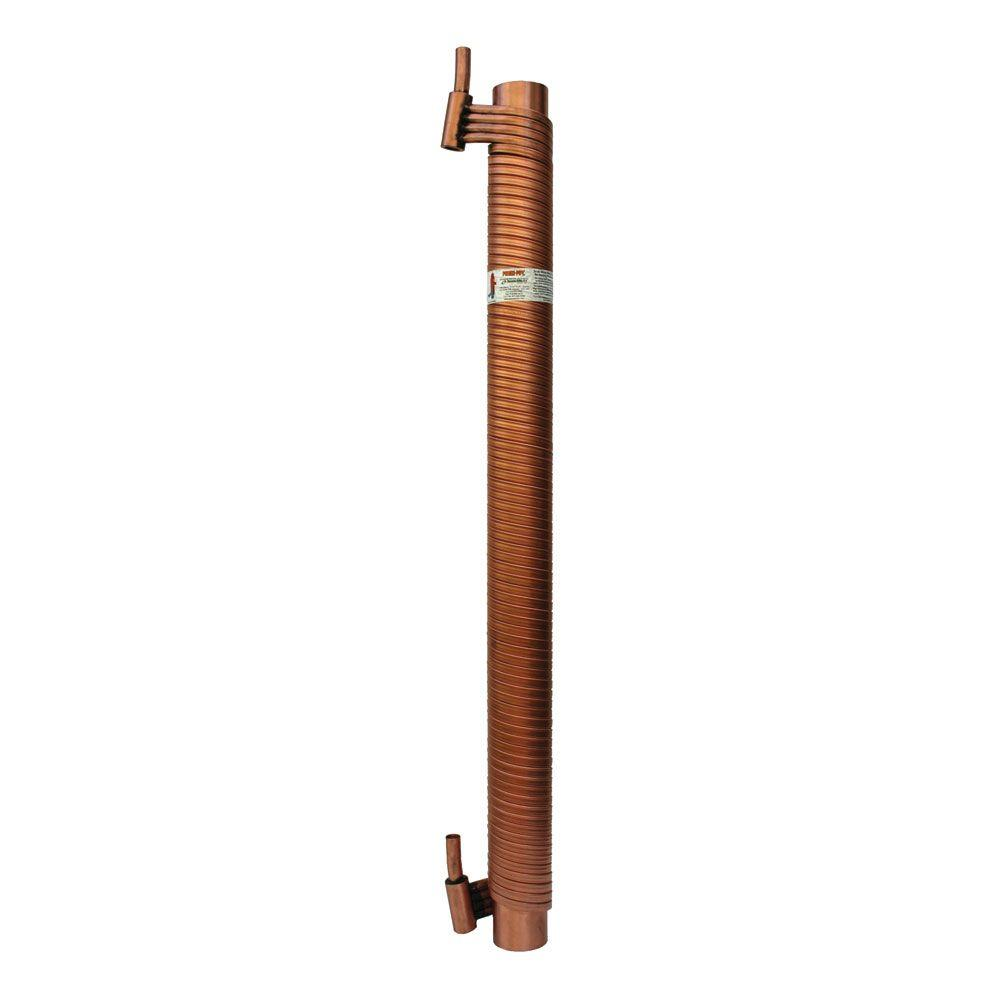 Power Pipe 3 In X 48 In Drain Water Heat Recovery Unit R3 48 The Home Depot