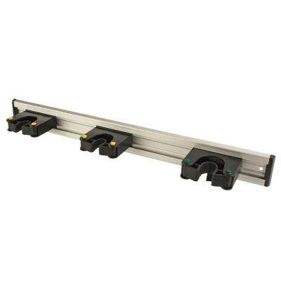 20 in. Tool Bar with 3-Grips in Black