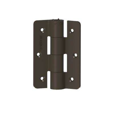 2.3 in. x 9.75 in. Aluminum Bronze Standard Butterfly Hinge (2-Pack)