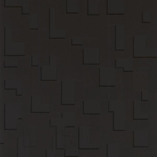 Graham & Brown Checker Black Removable Wallpaper 30-178