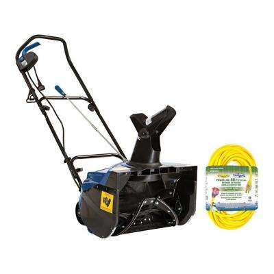 18 in. 13.5 Amp Electric Snow Blower with Bonus 50 ft. Cord