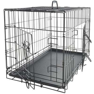 Folding Steel Crate Animal Playpen Wire Metal