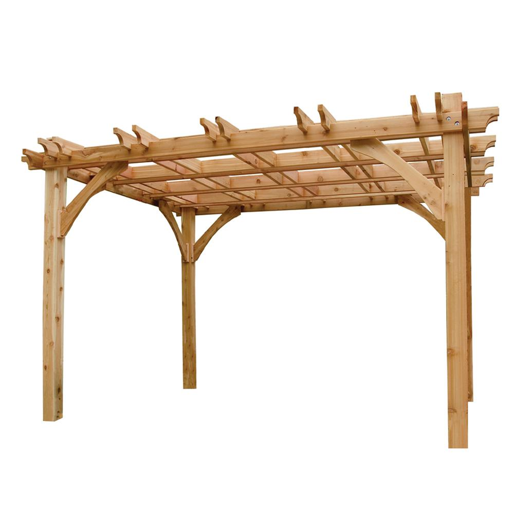 Outdoor Living Today Breeze 12 ft. x 12 ft. Cedar Pergola
