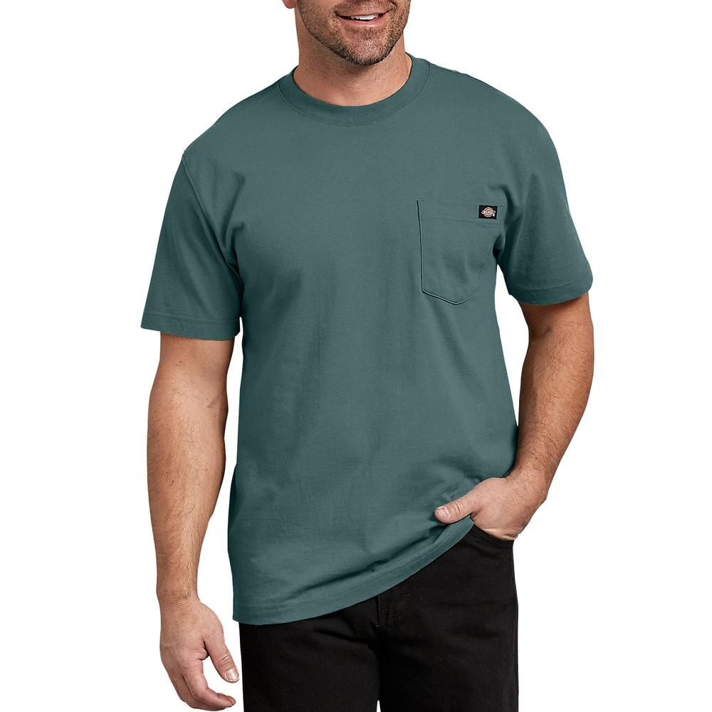34e13b0ecb3d Dickies Men's Lincoln Short Sleeve Heavyweight T-Shirt-WS450LN 2T ...