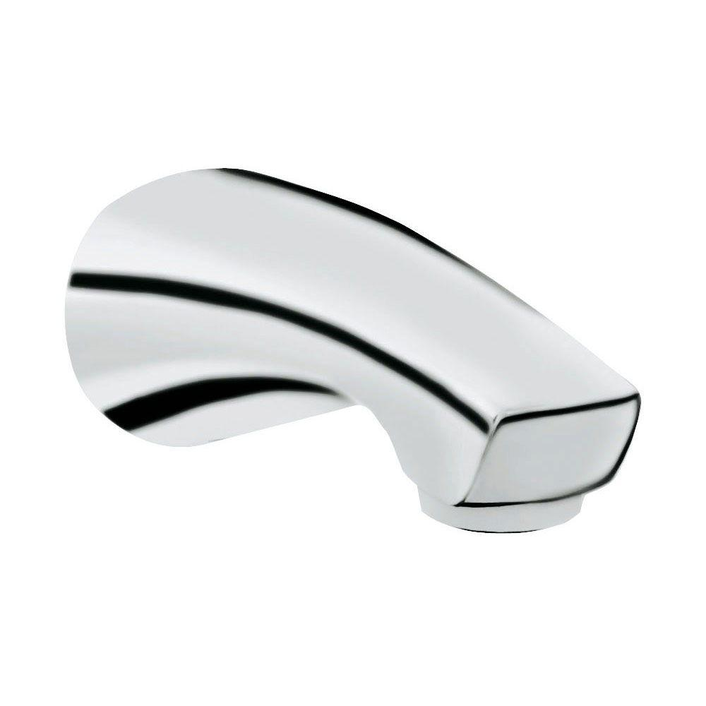 Arden 6 in. Wall Mounted Tub Spout in StarLight Chrome