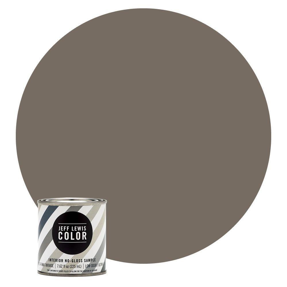 8 oz. #JLC111 Chestnut No-Gloss Ultra-Low VOC Interior Paint Sample