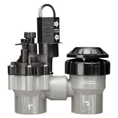 1 in. Anti-Siphon Irrigation Valve With Flow Control