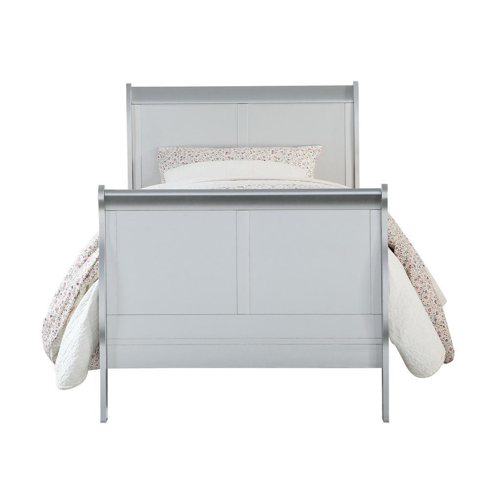 Acme Furniture Louis Philippe III Platinum Full Bed