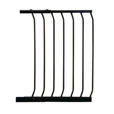 21 in. Gate Extension for Black Chelsea Standard Height Child Safety Gate