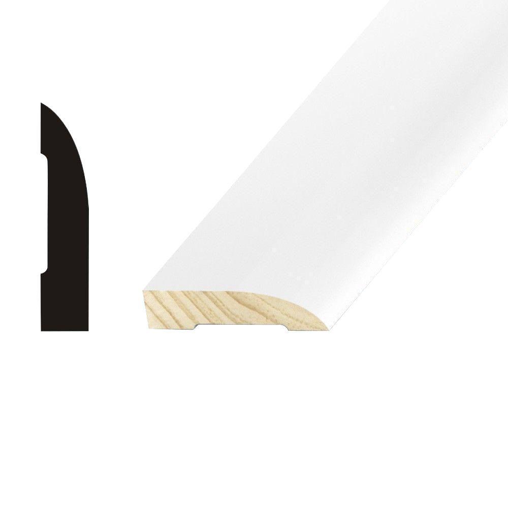 Kelleher Propack Streamline 1/2 in. x 2-1/4 in. x 16 ft. Primed Pine Base Moulding (12-Pack)
