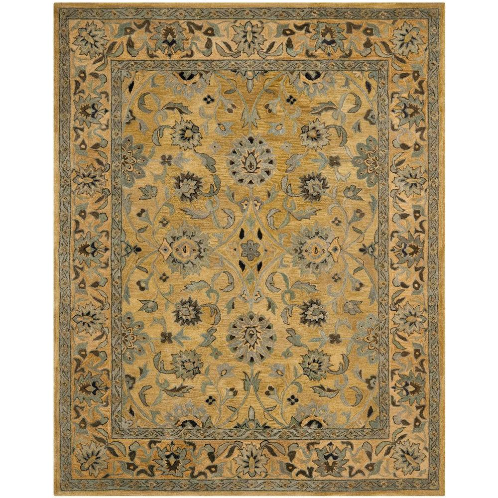 Anatolia Golden Pear/Smoke 8 ft. x 10 ft. Area Rug