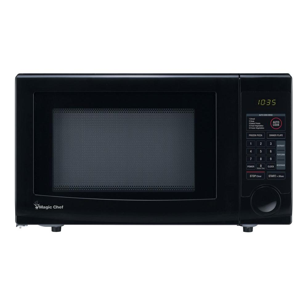 Countertop Microwave In Black