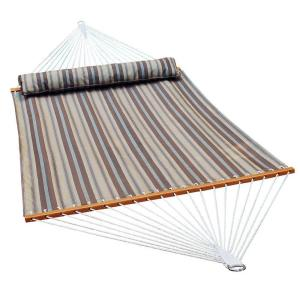 Algoma 13 ft. Polyester Swing Hammock in Earth Tone Stripe by Algoma
