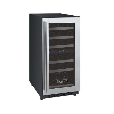FlexCount II Dual Zone 30-Bottle Built-in Wine Refrigerator