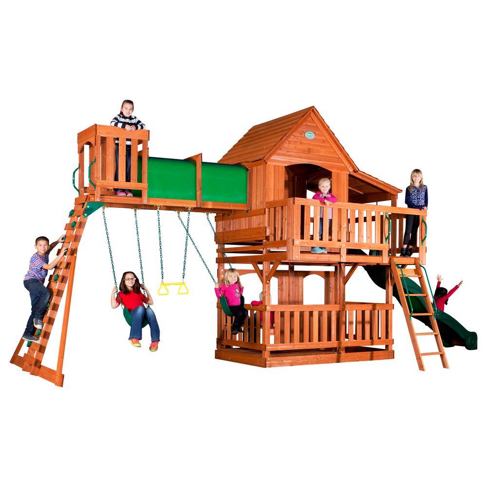 Woodridge Ii All Cedar Playset