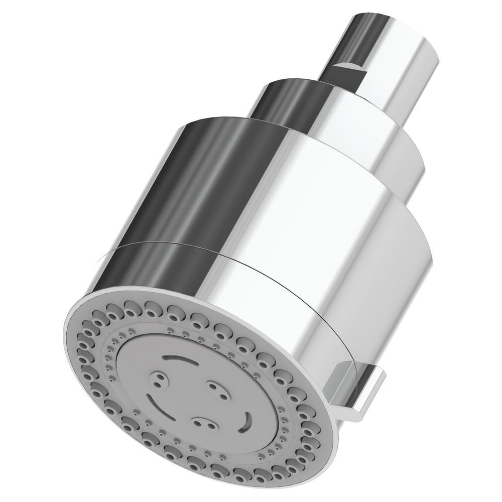 Symmons Dia 3-Spray 3 in. Fixed Shower Head in Chrome