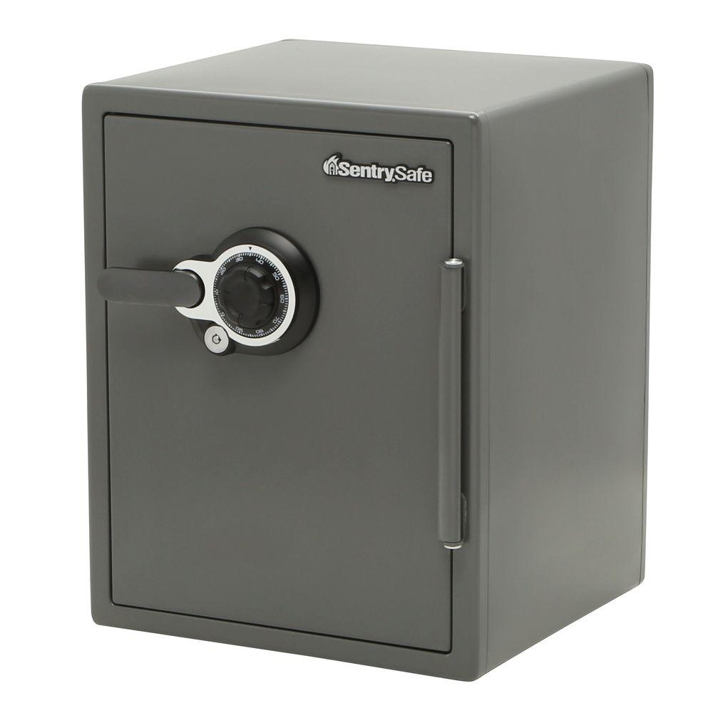 SentrySafe 2.0 cu. ft. Steel Fire and Water Resistant Safe with Dual Combination and Key Lock
