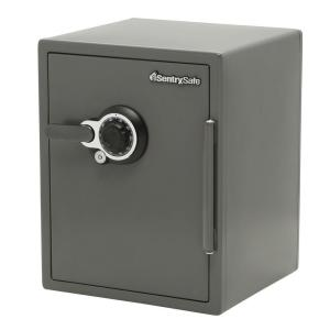 SentrySafe 2.0 cu. ft. Steel Fire and Water Resistant Safe with Dual Combination... by SentrySafe