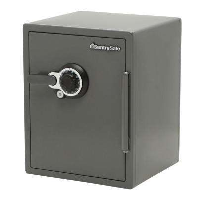 2.0 cu. ft. Steel Fire and Water Resistant Safe with Dual Combination and Key Lock