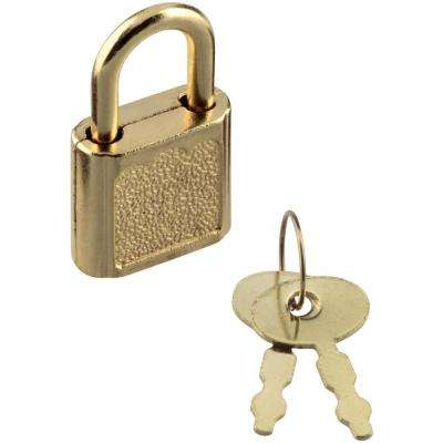 3/4 in. Padlock with Two Keys