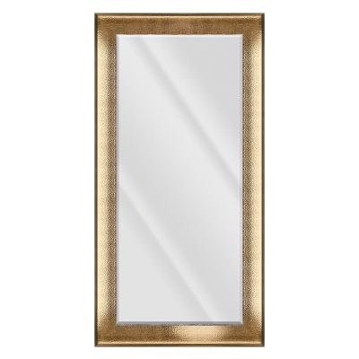 Large Rectangle Bronze Beveled Glass Contemporary Mirror (55.5 in. H x 31.5 in. W)