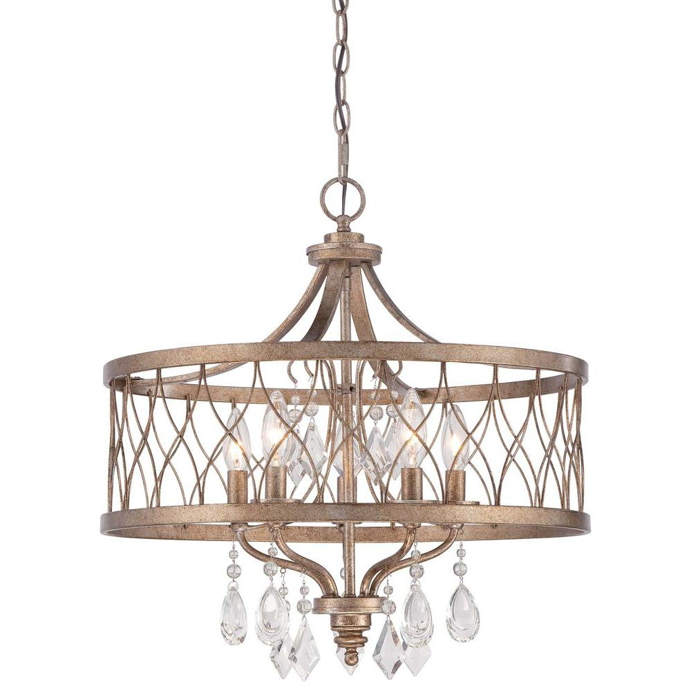 Minka Lavery West Liberty 5-Light Olympus Gold Chandelier-4404-581 - The Home Depot  sc 1 st  The Home Depot & Minka Lavery West Liberty 5-Light Olympus Gold Chandelier-4404-581 ... azcodes.com