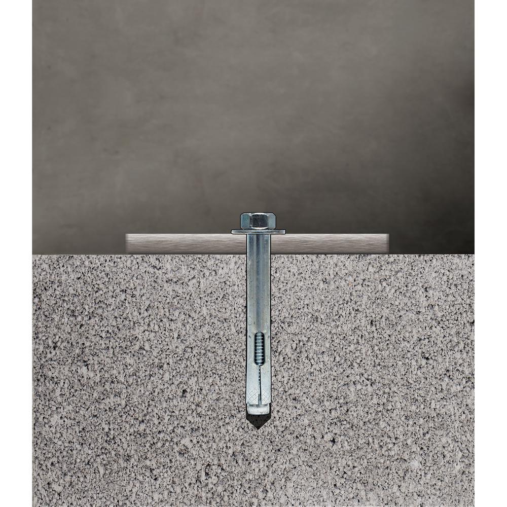 Quantity: 50 pcs 3//8 x 1 7//8 Sleeve Anchors//Rod Hanger//Steel//Zinc