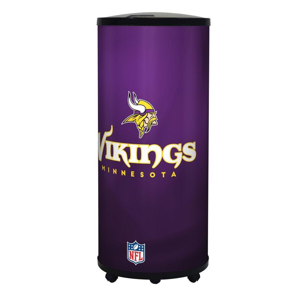 NFL 22 Qt. Minnesota Vikings Ice Barrel Cooler
