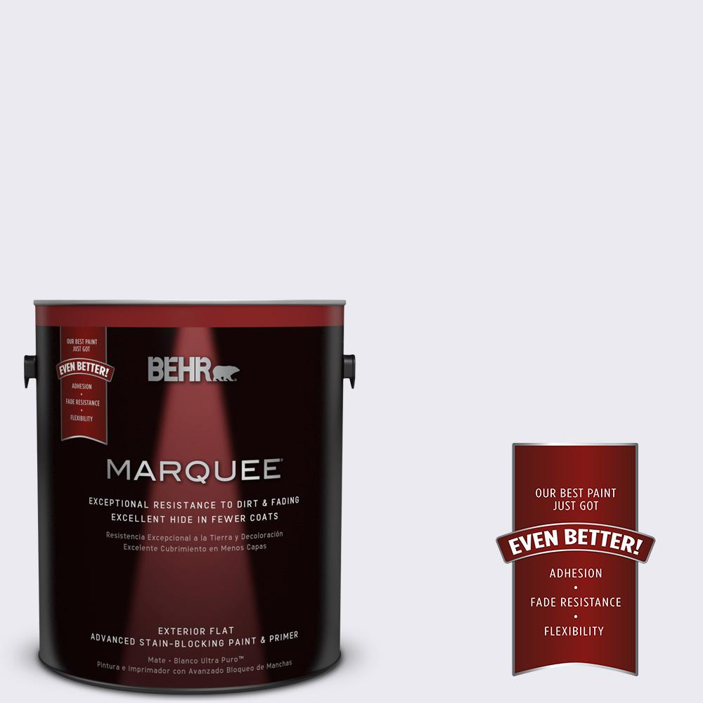 BEHR MARQUEE 1-gal. #630A-1 Amethyst Cream Flat Exterior Paint