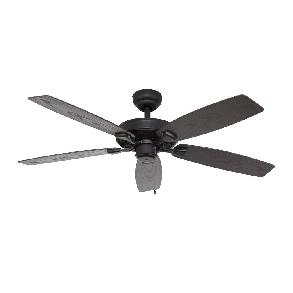 119 Best Images About Outdoor Ceiling Fans On Pinterest: Sahara Fans Bluff Cove 52 In. Outdoor Bronze Ceiling Fan