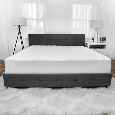 Luxury 15 in. Full Polyester Mattress Pad