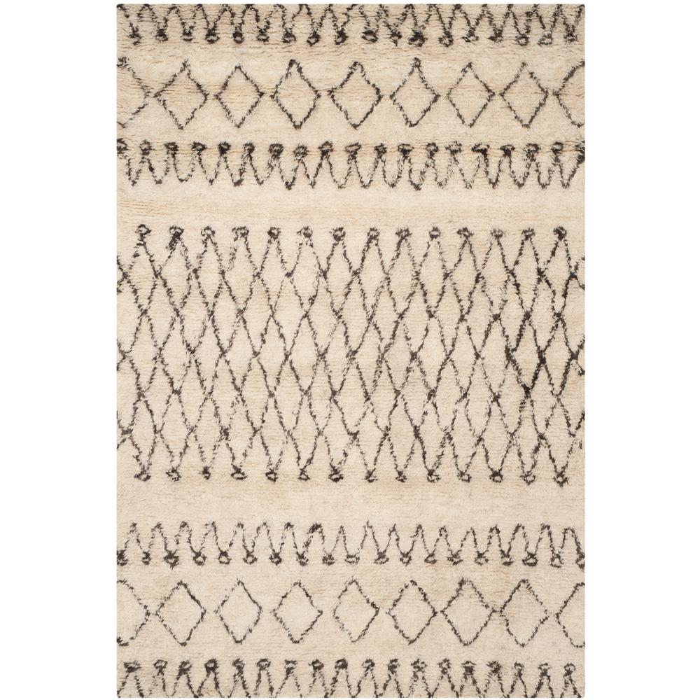 Casablanca Ivory/Natural 6 ft. x 9 ft. Area Rug