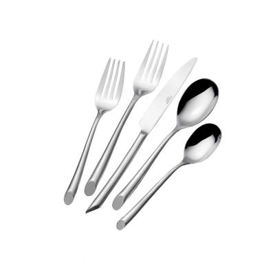 Wave Forged 20-Piece Flatware Set (Service for 4)