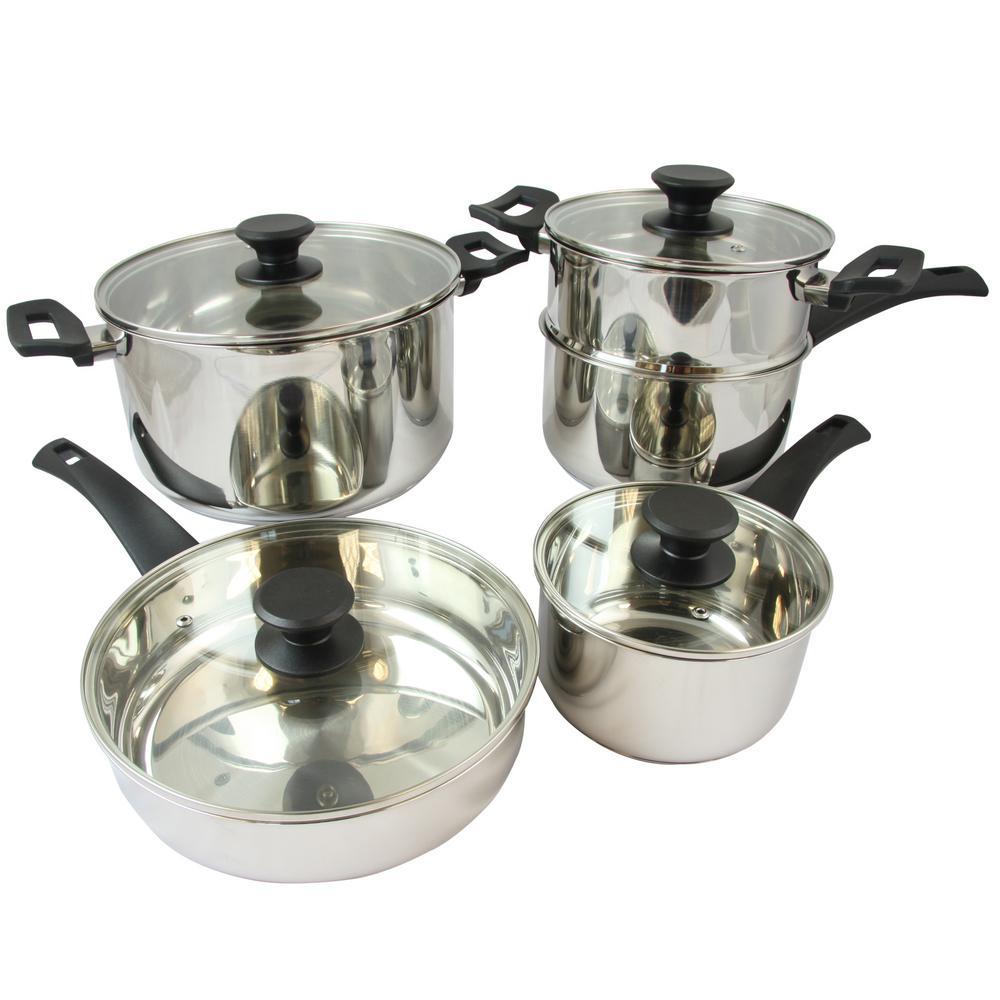 Sabato 9-Piece Cookware Set