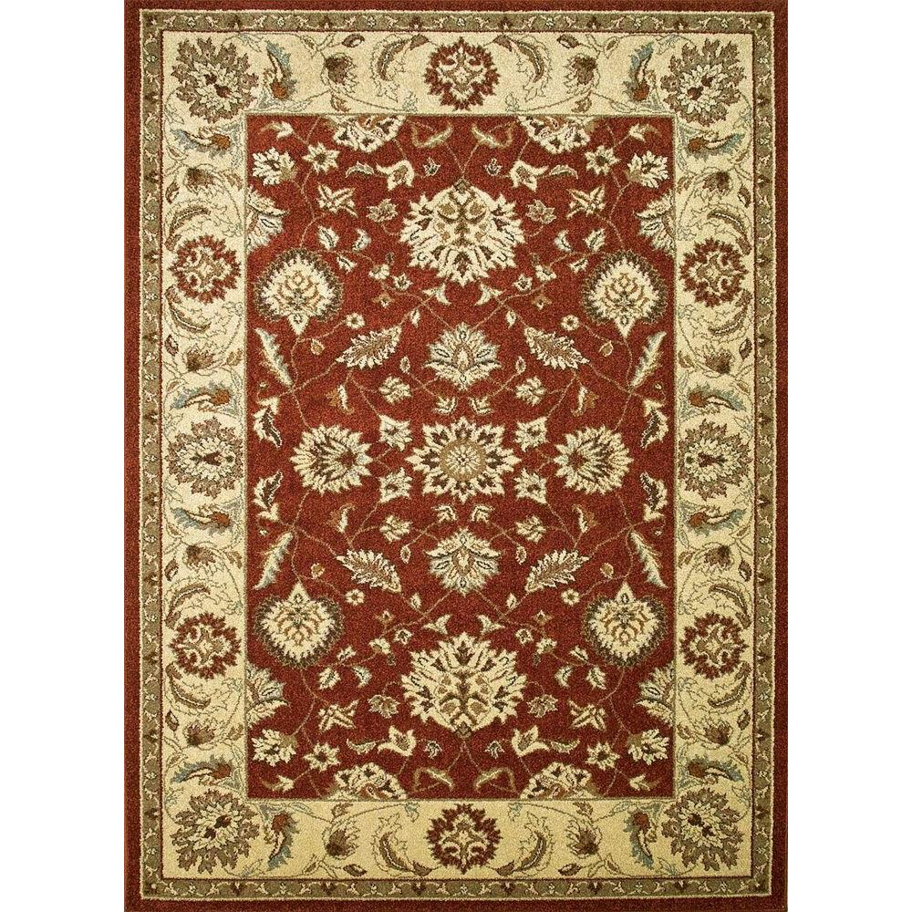 Concord Global Trading Chester Oushak Red 3 Ft 3 In X 4