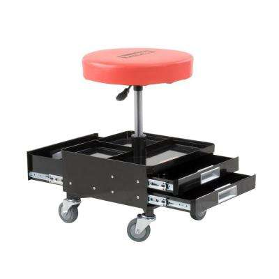 Pneumatic Chair with Dual Tool Trays