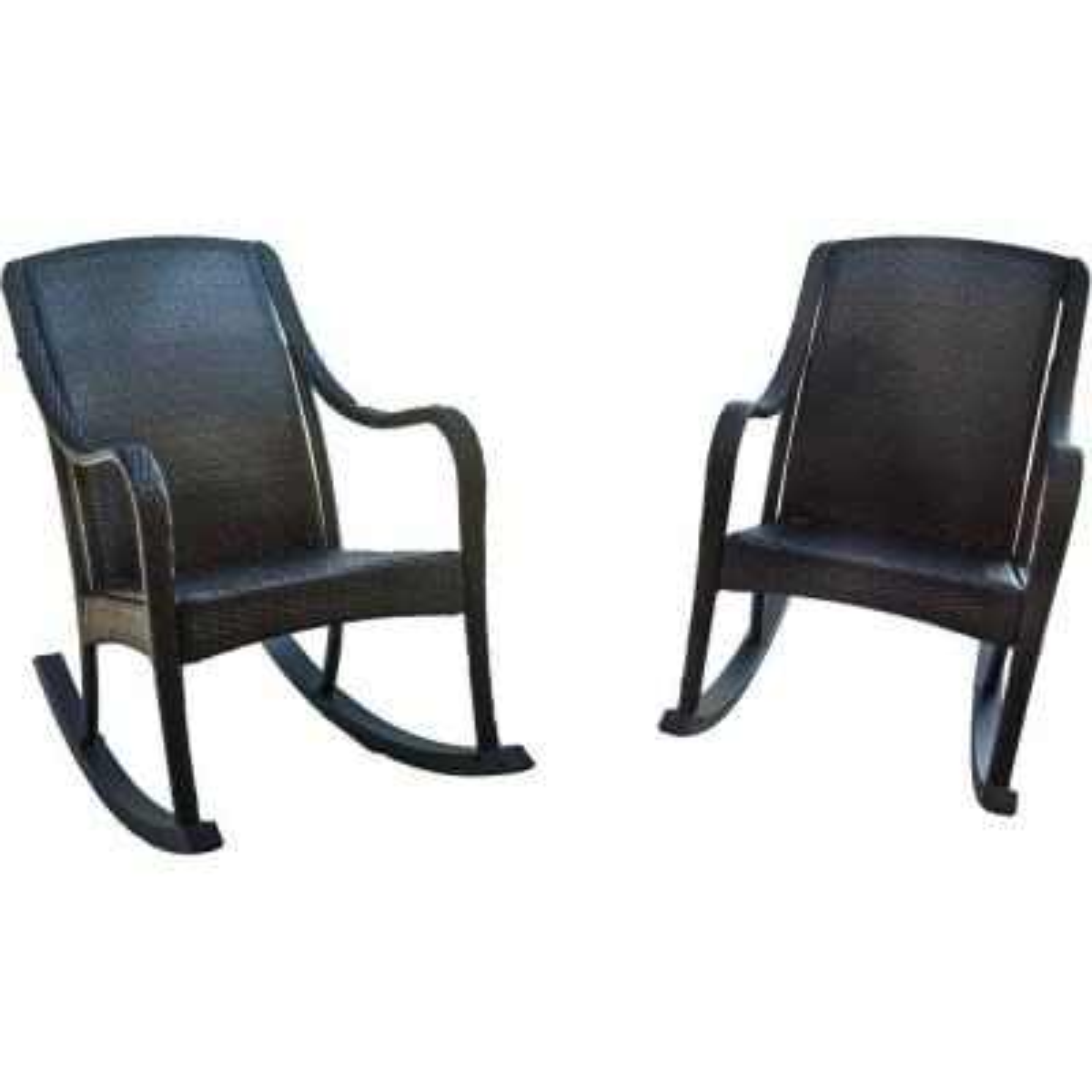 Orleans 2-Piece Rocking Patio Chair Set
