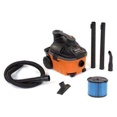4 Gal. 5.0-Peak HP Portable Wet/Dry Vacuum