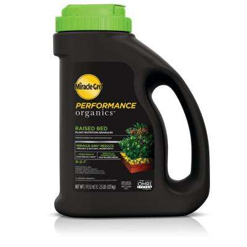 2.5 lb. Performance Organics Raised Bed Plant Nutrition