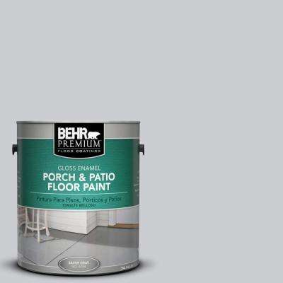 1 gal. #PPU26-16 Hush Gloss Porch and Patio Floor Paint