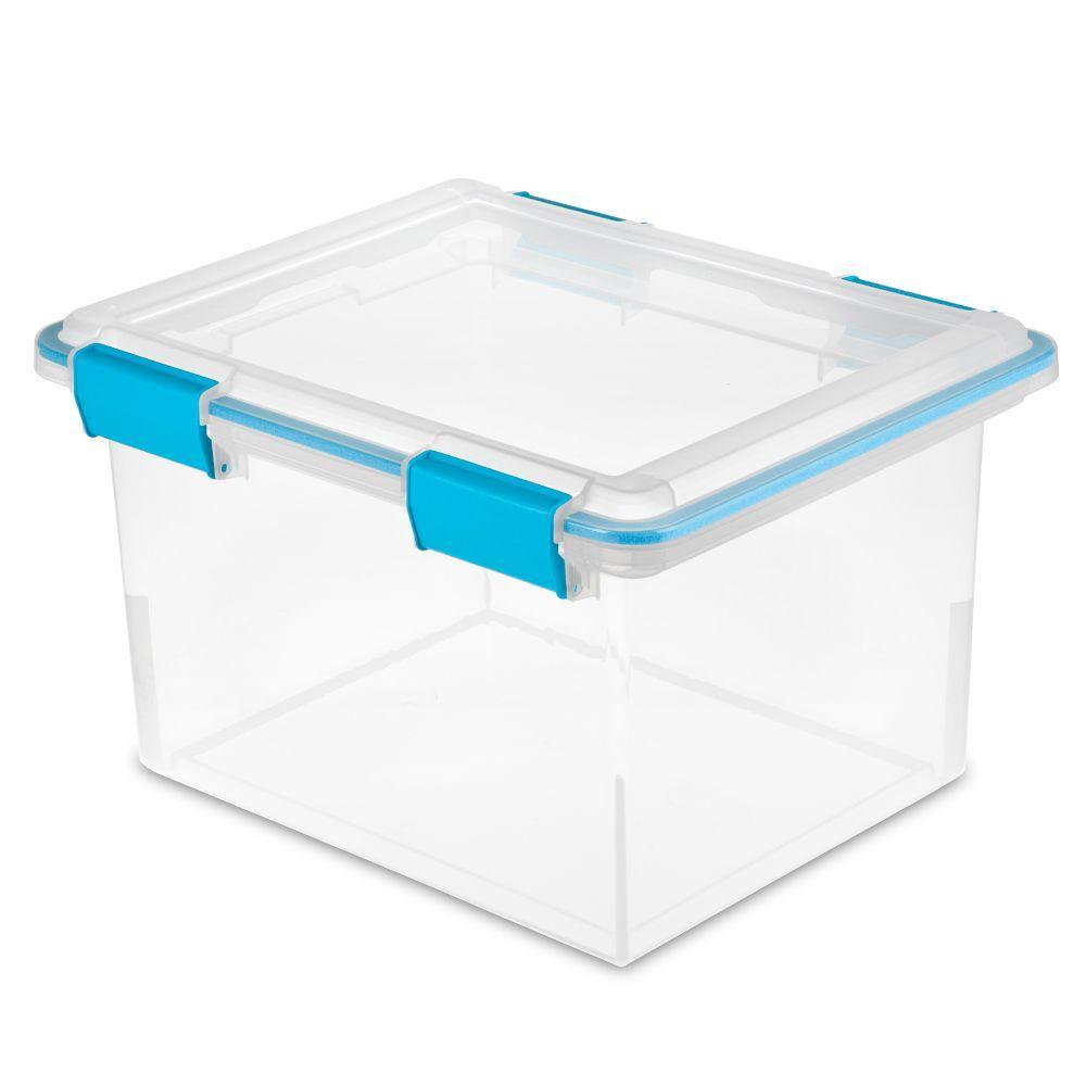 Sterilite Gasket 32 Qt. Storage Box