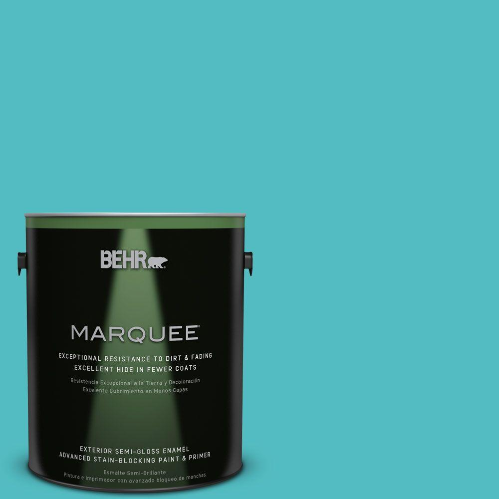 BEHR MARQUEE Home Decorators Collection 1-gal. #HDC-WR14-6 North Wind Semi-Gloss Enamel Exterior Paint