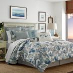Raw 3-Piece Blue King Duvet Cover Set