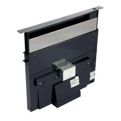 28000 Series Eclipse 36 in. Telescopic Downdraft System in Stainless Steel - External Blower