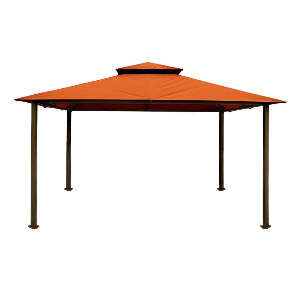 Paragon Gazebo 10 ft. x 12 ft. with Rust Top
